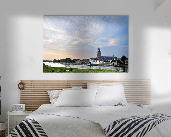 Beispiel: De skyline van Deventer von Arjan Penning