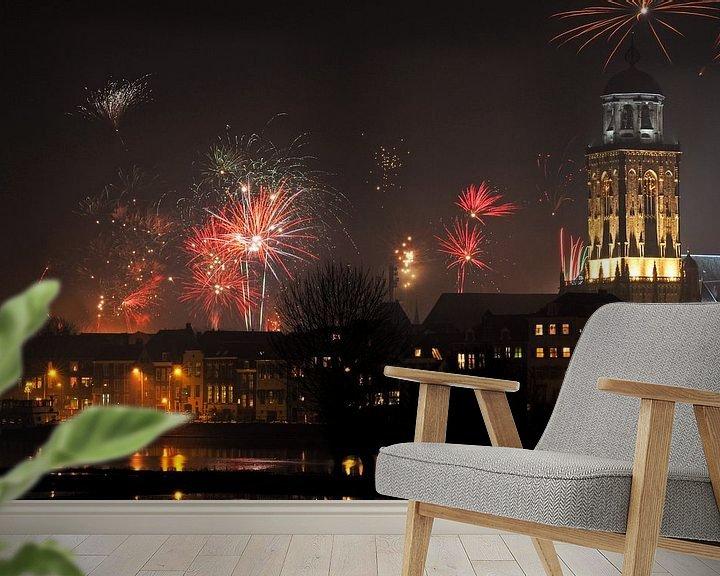 Impression: Deventer skyline oud & nieuw sur Arjan Penning