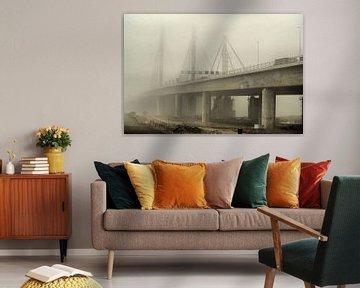 Waalbrug bij Ewijk van David Klumperman