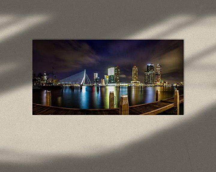 Beispiel: Rotterdam Panorama von Evert Buitendijk