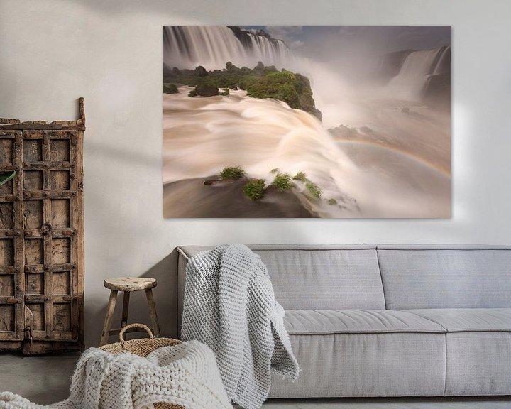 Sfeerimpressie: Foz do Iguazu waterval van Ellen van Drunen