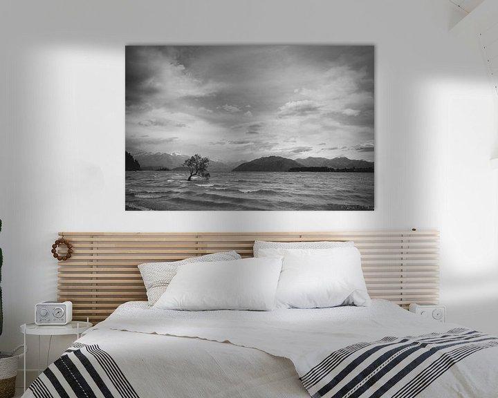 Sfeerimpressie: Het meer van Wanaka van Jasper van der Meij