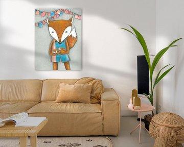 Moeder Vos   - Kunst voor Kinderen van Atelier BuntePunkt