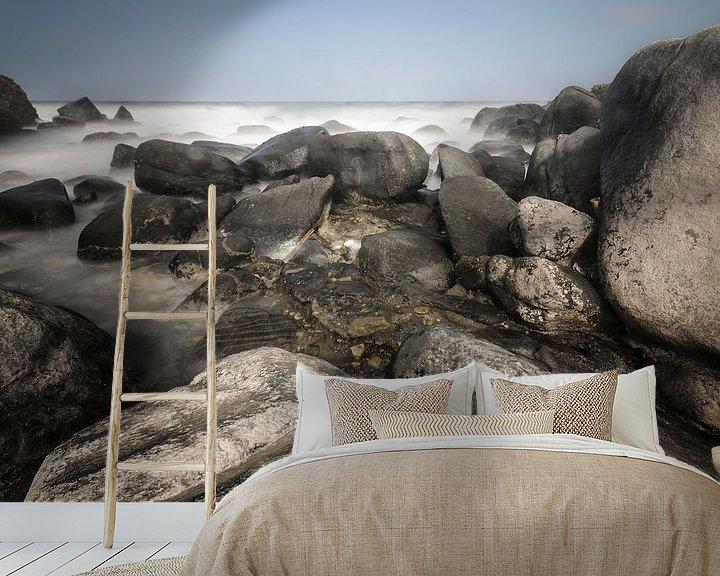 Sfeerimpressie behang: East Coast Aruba van Ed van Loon