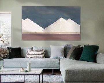 Mountains of salt von Ed van Loon