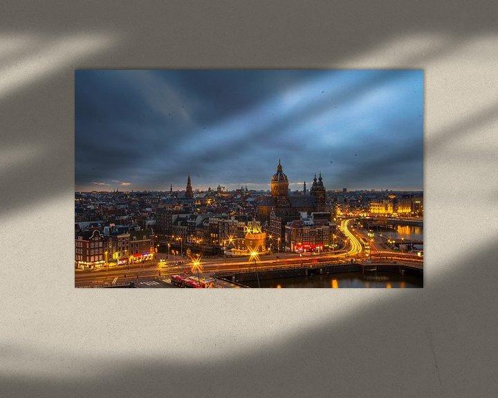 Sfeerimpressie: Amsterdam's view van Oscar Beins