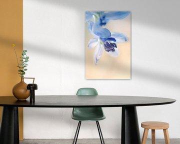 Blue painting von Marlies Prieckaerts