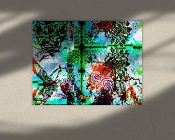 Abstrakt pattern von Roswitha Lorz