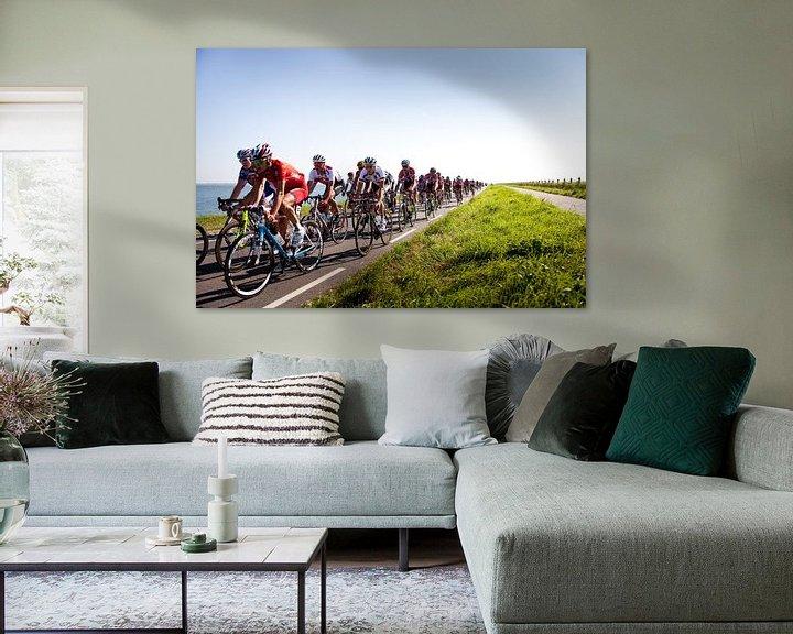 Sfeerimpressie: Wielrennen langs de Oosterschelde van Desiree Meulemans