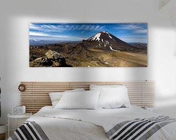 Tongariro Alpine Crossing in Neuseeland von Ricardo Bouman