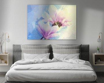Magnolienblüten 3 von Roswitha Lorz