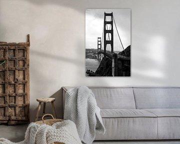 Golden Gate Bridge in San Francisco, USA von Ricardo Bouman