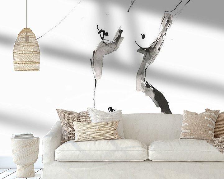 Beispiel fototapete: staand naakt von Desiree Meulemans