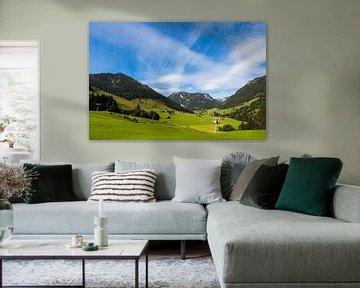 Mountain Landscape Zwitserland sur Remko Bochem