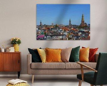Stadsgezicht Groningen von Michel van Kooten