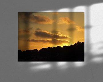 Frankrijk - Zonsondergang von Kevin van Lieshout