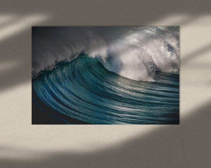 Sfeerimpressie: Fuerteventura golven (kleur) van Andy Troy