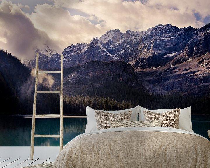 Beispiel fototapete: Lake O'Hara von Jasper van der Meij