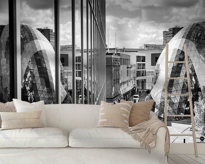 Sfeerimpressie behang: Eindhoven Centrum van Edwin van Aalten