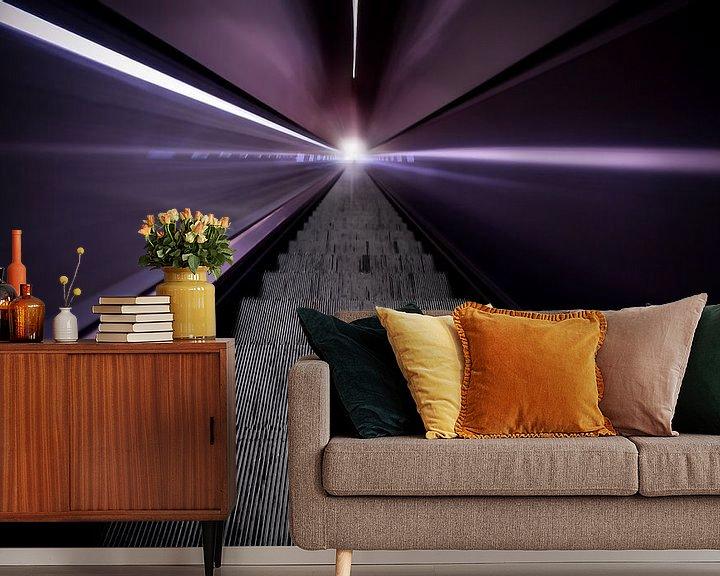 Sfeerimpressie behang: Take me to the light van Brian van Daal