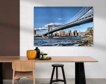 Manhattan Bridge New York von Tineke Visscher