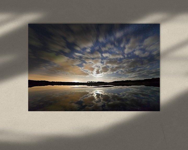 Sfeerimpressie: Sterren spiegeling van Anton de Zeeuw