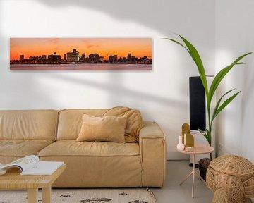 Oranje boven Rotterdam van Anton de Zeeuw