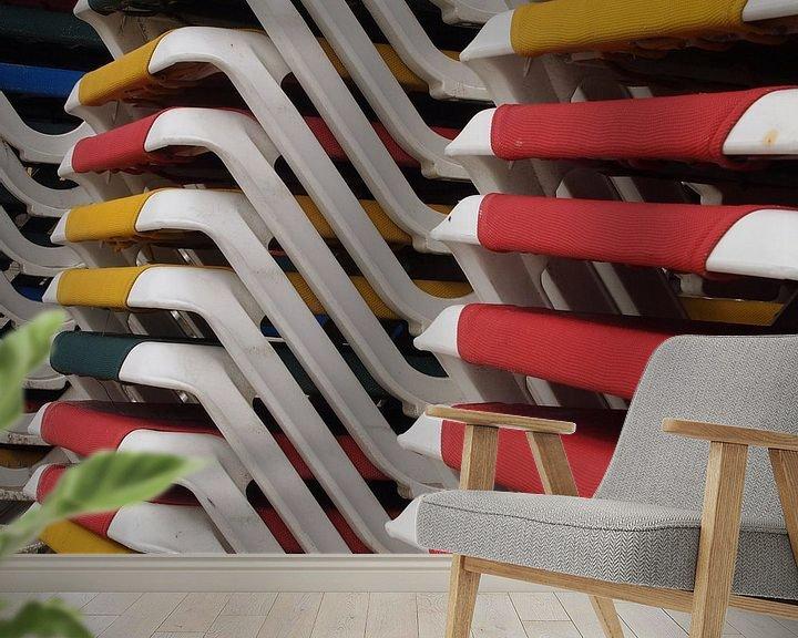 Sfeerimpressie behang: Summerfeeling van Jon Houkes