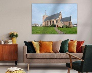 Jacobus-Kirche in Renesse von Ruud Morijn