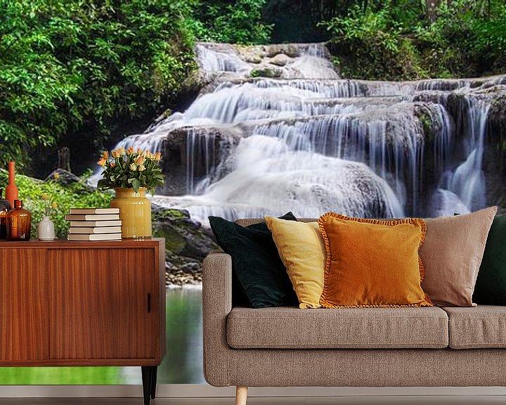 Sfeerimpressie behang: Erawan National Park van Giovanni della Primavera