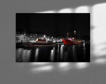 Leeftijd binnenhaven in Emden van Rolf Pötsch
