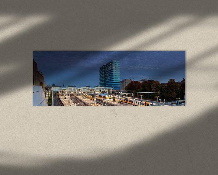 Sfeerimpressie: Station Arnhem panorama van Anton de Zeeuw