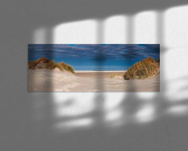 Sfeerimpressie: Panorama duin en strand van Anton de Zeeuw