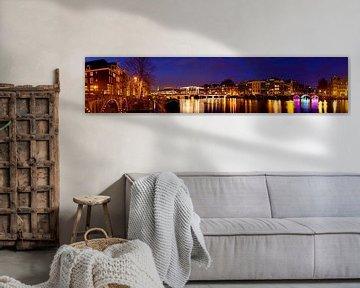 Panorama Magere Brug Amsterdam