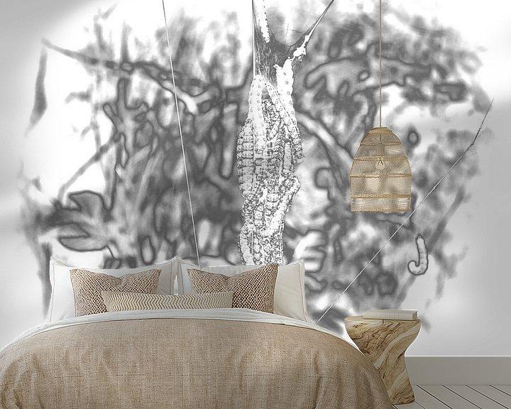 Sfeerimpressie behang: Caterpillar 3 van Jon Houkes