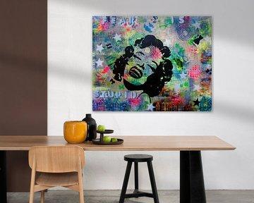 Marilyn Monroe von Femke van der Tak (fem-paintings)