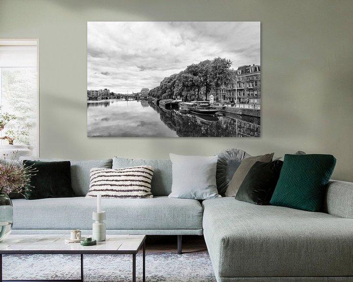 Sfeerimpressie: Weesperzijde Amsterdam van Don Fonzarelli