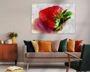 Erdbeere van Roswitha Lorz
