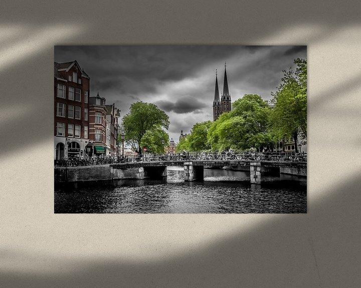 Sfeerimpressie: Singel Amsterdam van Melanie Viola