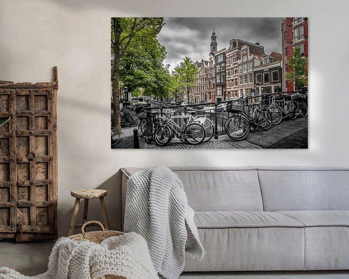 Sfeerimpressie: Bloemgracht Amsterdam van Melanie Viola