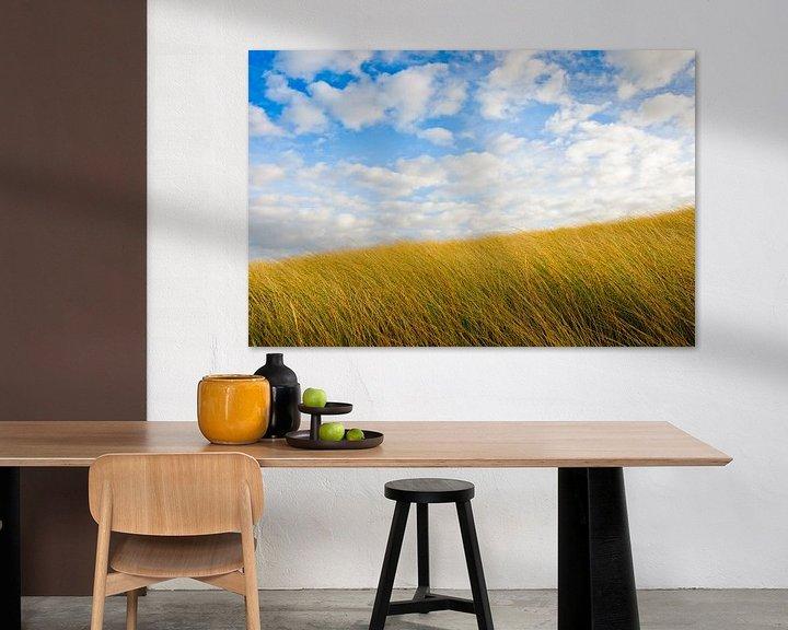 Impression: Dunes and Blue Sky sur Erwin Plug