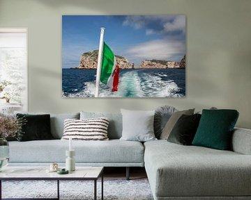 Italienische flagge von André Hamerpagt