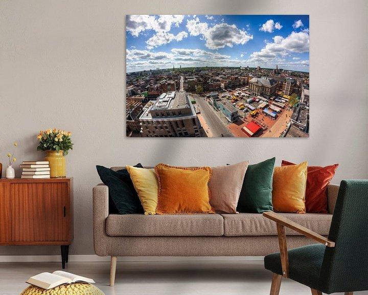 Sfeerimpressie: Uitzicht op Groningen van Frenk Volt