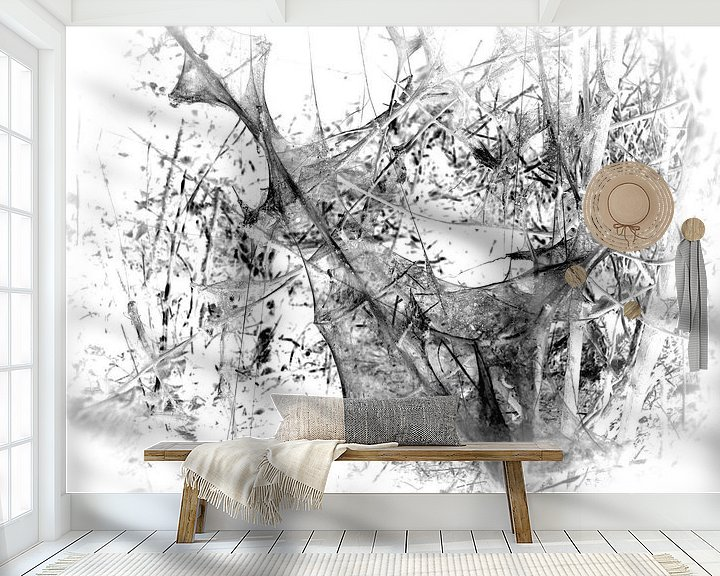 Sfeerimpressie behang: Caterpillar 5 van Jon Houkes