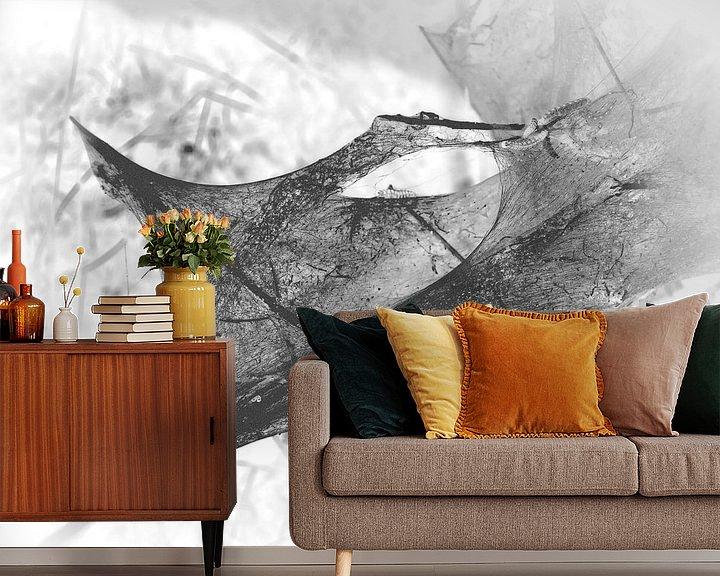 Sfeerimpressie behang: Caterpillar 9 van Jon Houkes