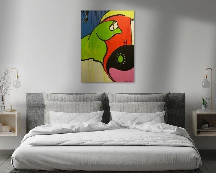 Sfeerimpressie: Green Egg van Ria Lenaerts