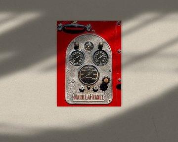 Brandweer drukmeters