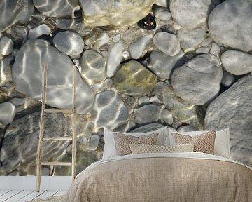 Rocks under Water van Christiane Behrmann