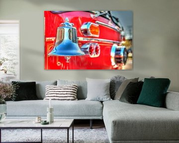 """Saved by the bell """"Firetruck"""" van Rob Smit"""