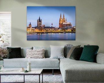 Köln Rheinufer van davis davis